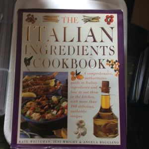 Other - The Italian Ingredients Cookbook Hardcover